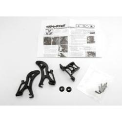 5411 SUPPORT D'AILERON COMPLET REVO - TRAXXAS