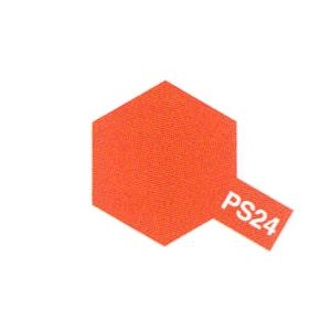 PS24 orange fluorescent Reference : 86024-TAMIYA